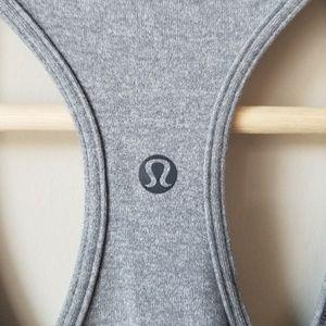 lululemon athletica Tops - Lululemon Gray Tank Top Reversible Sleeveless 4